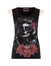 0d7e751383ac5 grand choix de vêtements gothiques femmes petites et grandes tailles. Top P Tank ...