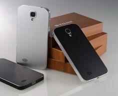 Galaxy S4 Aluminium metal circle grid back Case