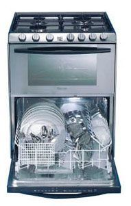 Candy Trio 501X range-oven-dishwasher