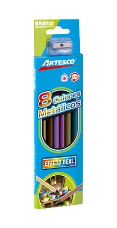 Colores metálicos ¡Haz tu dibujo relucir!