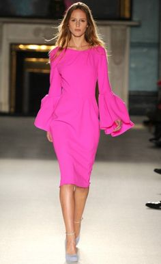 Roksanda Ilincic's pink dress keeps keeps selling out.