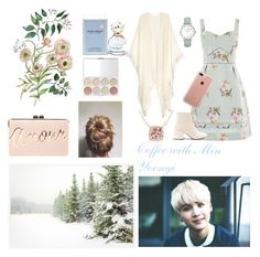 Coffee with Min Yoongi by yoongina94 on Polyvore featuring moda, Oasis, MM6 Maison Margiela, BCBGMAXAZRIA, CLUSE, Belkin, Marc Jacobs, Pottery Barn and Veja