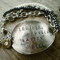 Southern Silver Spoon Bracelets