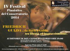 IV FESTIVAL PIANISTICO 2014 – AUDITORIUM CONSERVATORIO – CAGLIARI – 6-29 OTTOBRE 2014