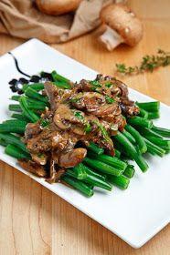 Closet Cooking: Green Beans in a Creamy Mushroom Sauce