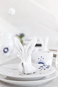 DIY Easter bunny napkin | Stylizimo blog | Bloglovin'