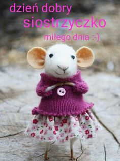 Little Coquet Mouse- Needle Felted Ornament - Felting Dreams by Johana Molina Needle Felted Ornaments, Felt Ornaments, Needle Felted Animals, Felt Animals, Wet Felting, Needle Felting, Felt Mouse, Baby Mouse, Cute Mouse