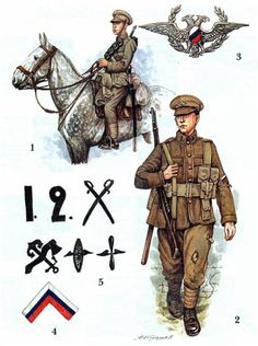 Russia White Army Reconstructions