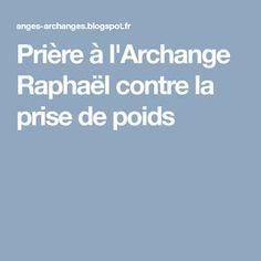 Prière à l'Archange Raphaël contre la prise de poids
