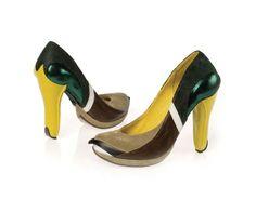 Animal designed shoes, by Kobi Levi