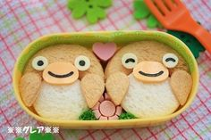 penguin sandwich mini bento