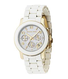 Michael Kors White Chronograph Watch