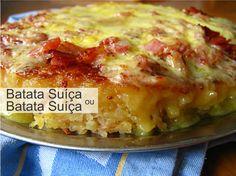 Batata Rosti (Batata Suíça)