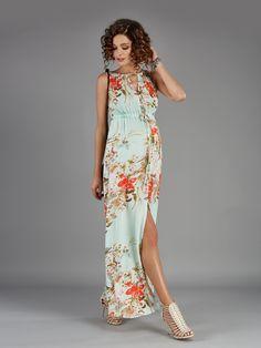 Kawsar Floral Maternity Dress - New Arrival - Mothers Boutique Melbourne - 1