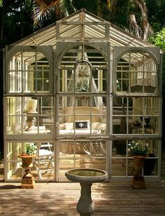 If you have a house, you have a yard. And if you have a yard, then you have a gazebo. There is no gazebo?