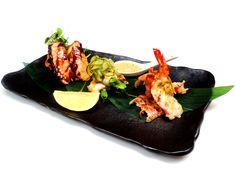 London Restaurant Festival menu, available from today!   Here's one of the special dishes from the menu - Hibachi Seafood, Garden Salad - Salmon Teriyaki, Herb Prawns & Seabass Rolls, char-grilled & served with Asian sauce & salad. It's a must!