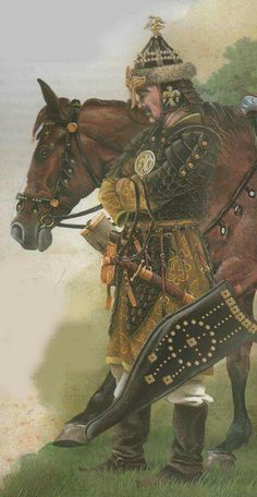 "Turkish Seljuk ""Gulam-ı Hass"" Soldier Great Seljuk Empire Period Tudor History, Ancient History, Asian History, British History, Strange History, History Facts, Old Warrior, Military Costumes, Islamic Art Calligraphy"