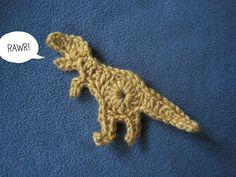 10 Free Crochet Dinosaur Patterns in a Collection on Moogly! 10 Free Crochet Dinosaur Patterns in a Collection on Moogly! Lion Crochet, Crochet Dinosaur Patterns, Cute Crochet, Crochet For Kids, Crochet Animals, Crochet Crafts, Crochet Projects, Knit Crochet, Crochet Patterns