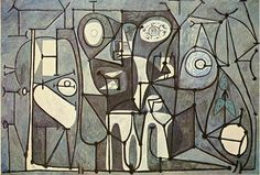 Pablo Picasso  The Kitchen