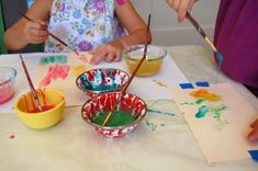 Good article about creating art with kids