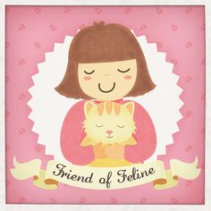 friend of feline by nitchii, via Flickr