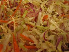 Cooking for Assholes: Vinegar Based Coleslaw