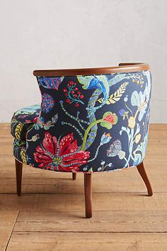 Printed Bixby Chair - anthropologie.com