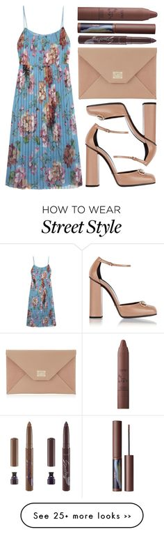 """""""street style"""" by sisaez on Polyvore featuring Gucci, Jimmy Choo and tarte"""