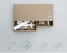 104Reusable Package_Drawer on Behance