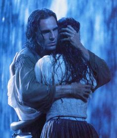 """Last of the Mohicans    """"…You stay alive, no matter what occurs! I will find you. No matter how long it takes, no matter how far, I will find you.""""  —Hawkeye (Daniel Day-Lewis) to Cora (Madeleine Stowe)"""