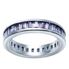 purple zircon wedding ring for women wedding bands High Quality simple design cute lovely classic round circle jewelry #Affiliate