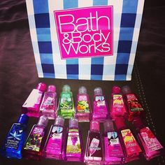 Bath and body works !