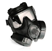 military and police issued m50 CBRN mask.