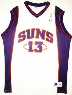 Champion NBA Basketball Phoenix Suns #13 Steve Nash Trikot / Jersey Size XXL - 69,90€ #nba #basketball #trikot #jersey #ebay #sport #fitness #fanartikel #merchandise #usa #america #fashion #mode #collectable #memorabilia #allbigeverything