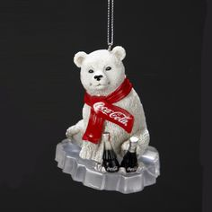 Coca Cola Polar Bear Figurine on Ice Coca Cola Bottles, Pepsi Cola, Garrafa Coca Cola, Coca Cola Vintage, Cocoa Cola, Coca Cola Polar Bear, Coca Cola Christmas, Always Coca Cola, Polar Bears
