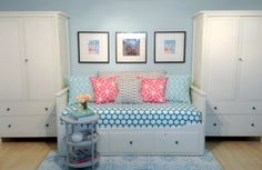 Daybed Into Sofa! Basement Family Room Makeover Reveal :: YummyMummyClub.ca