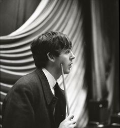 Jane Bown with The Beatles | Music | The Guardian Paul McCartney, backstage at East Ham 1963