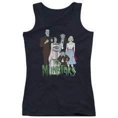 Munsters: The Family Junior Tank Top