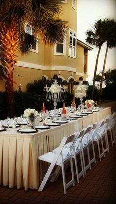 A quaint little wedding reception in Destin, FL...July 2013
