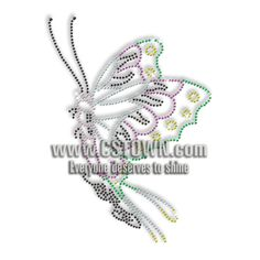Looking for Volant Butterfly Hotfix Rhinestone Image Transfer  Custom design  service free of charge! 25a5befec9fa