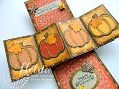 Hilda Designs: Reto Octubre en SCC: Combo Color y Calabazas