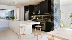 how to create a small modern kitchen that's big on luxury