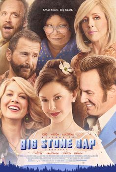 BIG STONE GAP movie poster Adriana Trigiani Virginia Whoopi Ashley Judd Patrick Wilson Jenna Elfman