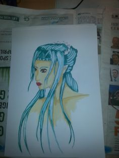 My first tryout whit watercollers