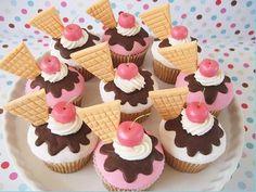 ice cream cupcakes...delicious