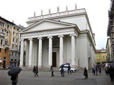 Trieste - Chiesa di Sant Antonio Taumaturgo - TGS Pictures Trieste, North Africa, Travel Pictures, Asia, Louvre, Street View, Europe, Italy, Building