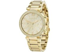 Michael Kors Parker Gold Watch -- Check this awesome image Watch Brands, Best Brand, Fashion Watches, Michael Kors Watch, Gold Watch, Luxury Fashion, Rose Gold, Stuff To Buy, Accessories