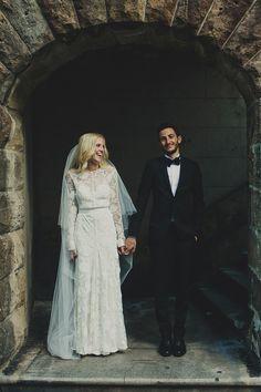 Best wedding dresses of 2015/ Rue de Seine long sleeved wedding dress (Image by Dan O'Day)