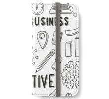 Business idea creative iPhone Wallet