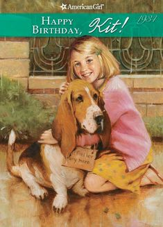 The Paperback of the Happy Birthday, Kit!: A Springtime Story (American Girls Collection Series: Kit by Valerie Tripp, Susan McAliley, Walter Rane History Book Club, American Girl Books, American Girls, Chica Anime Manga, Mystery Books, Used Books, Girl Dolls, Ag Dolls, Childrens Books